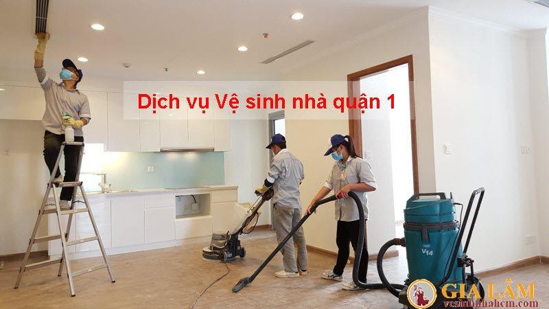 dịch vụ vệ sinh nhà quận 1