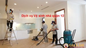 Dịch vụ vệ sinh nhà Quận 12