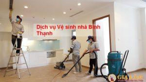 Dịch vụ vệ sinh nhà Quận Bình Thạnh
