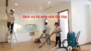 Dịch vụ vệ sinh nhà Quận Gò Vấp