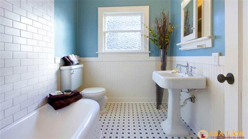 vệ sinh nhà vệ sinh sạch