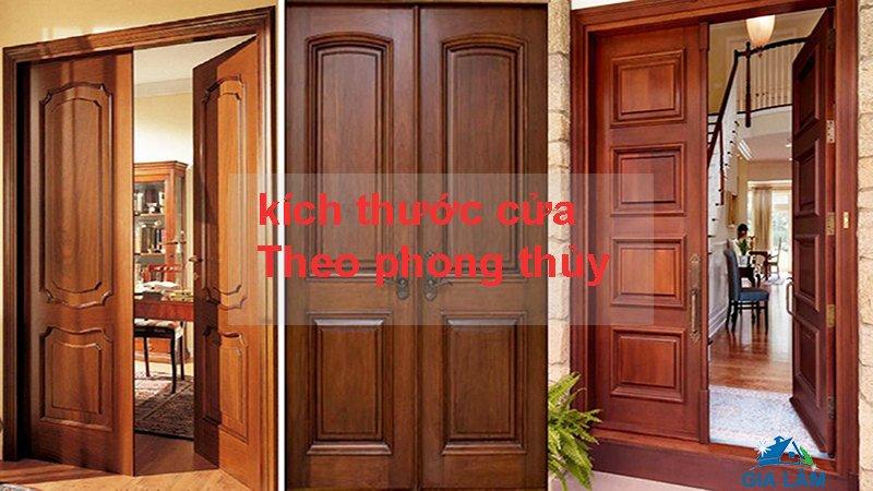 kích thước cửa theo phong thủy