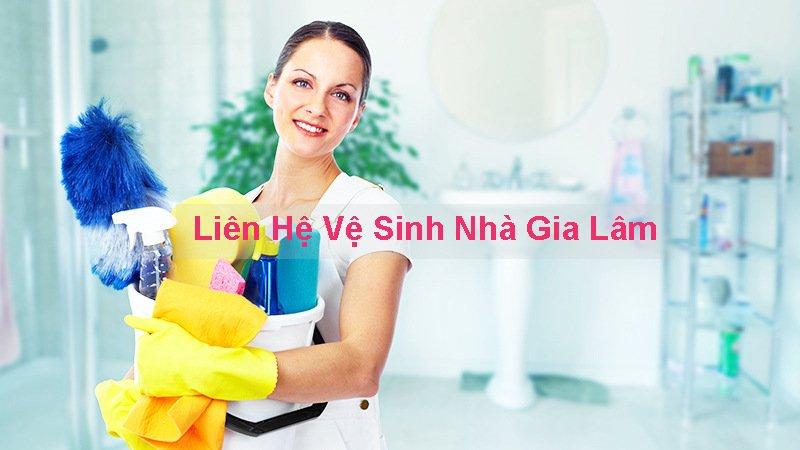 liên hệ vệ sinh nhà gia lâm