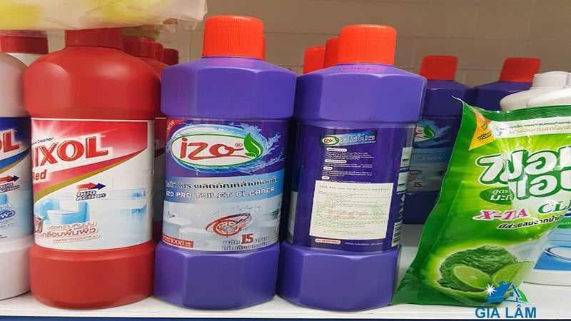 nước tẩy rửa nhà vệ sinh