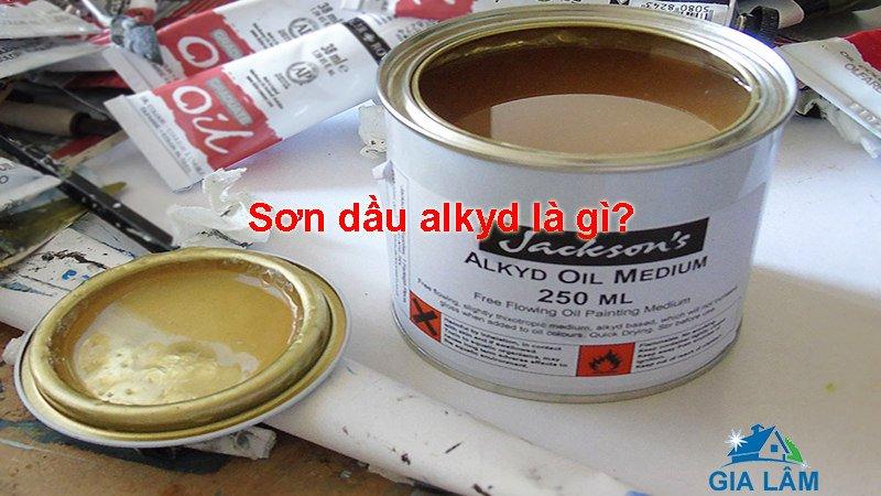 sơn dầu alkyd là gì