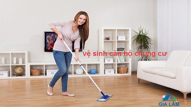 vệ sinh căn hộ chung cư