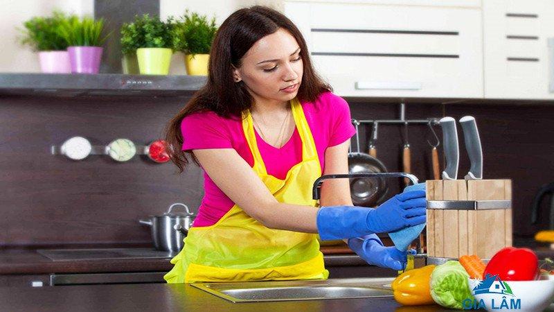 cách vệ sinh nhà bếp sạch bóng