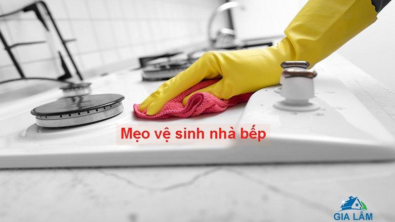 mẹo vệ sinh nhà bếp
