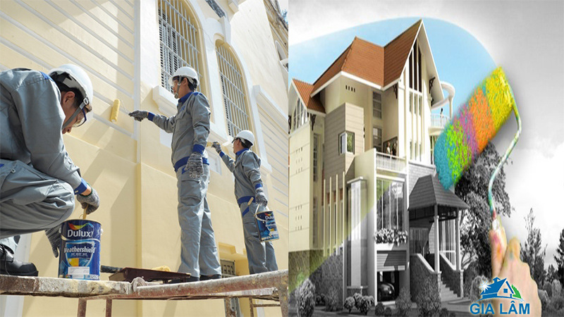 dịch vụ sơn nhà tphcm