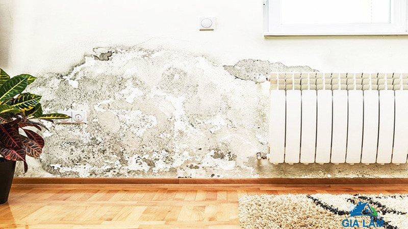 nguyên nhân tường nhà bị thấm nước