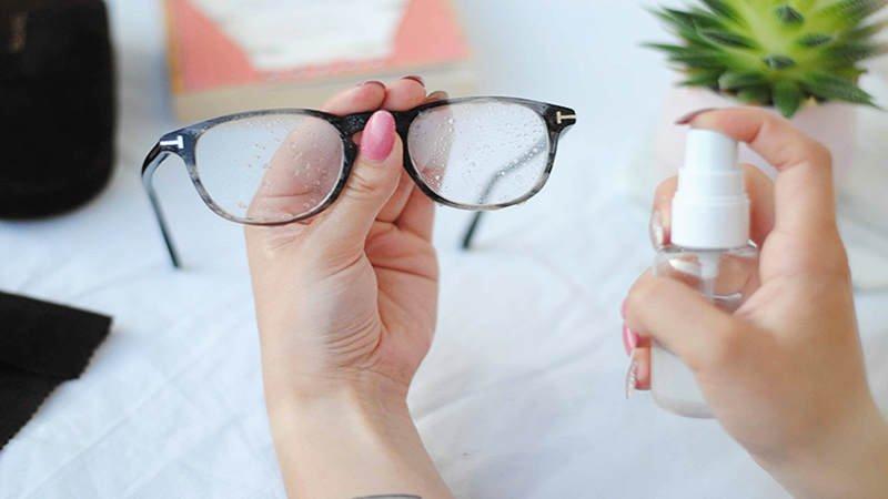 cách bảo quản kính mắt