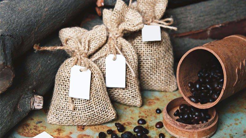 cách làm túi thơm từ bả cà phê