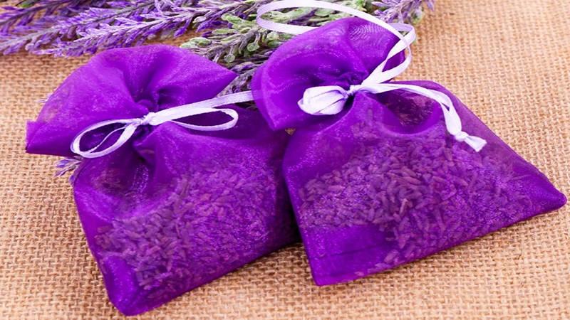 làm túi thơm từ vỏ cam
