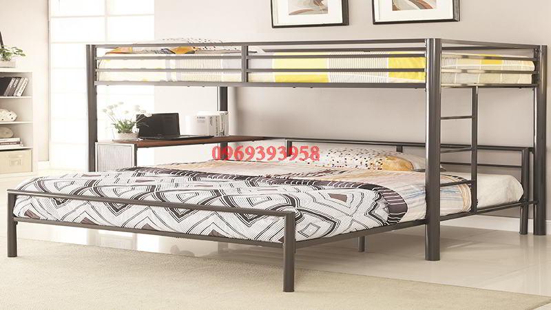 thi công giường sắt giá rẻ